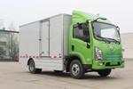 陕汽商用车 轩德E9 轻量化版 4.5T 4.1米单排纯电动厢式轻卡(SX5044XXYBEV331L)图片