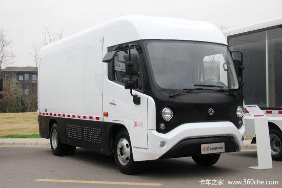 东风 凯普特EV400 4.2米单排厢式纯电动轻卡