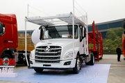 东风柳汽 乘龙T5重卡 270马力 4X2车辆运输长头牵引车(LZ4180T5AB)