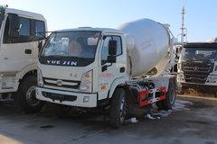 跃进 开拓X300 115马力 4X2 混凝土搅拌运输车(SH5102GJB1)
