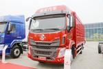 东风柳汽 乘龙H5 220马力 4X2 6.8米仓栅式载货车(高顶双卧)(LZ5182CCYM3AB)图片