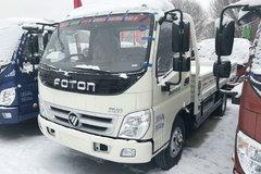 福田 奥铃捷运 130马力 CNG 5.15米单排栏板轻卡(BJ1099VBJCA-A1) 卡车图片