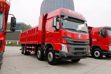 东风柳汽 乘龙H7 350马力 8X4 7.6米自卸车