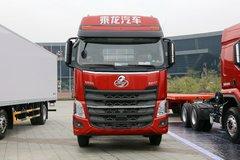 东风柳汽 乘龙H7重卡 350马力 8X2 9.6米仓栅式载货车底盘(LZ5320CCYH7EB) 卡车图片