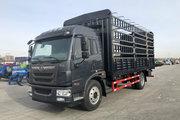 解放 麟VH 180马力 6.2米排半仓栅式载货车(CA5160CCYPK62L5E5A85)
