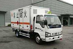 庆铃 五十铃600P 130马力 4.2米易燃液体厢式运输车(QL5040XRYA5HAJ)
