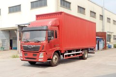 中国重汽 豪曼H5中卡 180马力 4X2 7.8米翼开启厢式载货车(ZZ5188XYKG10EB1) 卡车图片