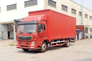 中国重汽 豪曼H5中卡 180马力 4X2 7.8米厢式载货车(ZZ5188XXYG10EB1)