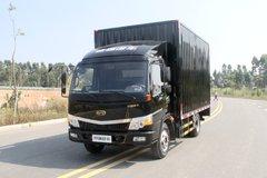 开瑞绿卡 智享版 基本型 129马力 4.15米单排厢式轻卡(宽体)(SQR5046XXYH02D) 卡车图片