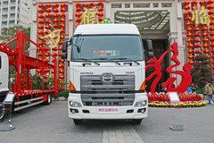 广汽日野700牵引车外观                                                图片