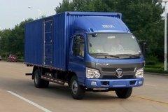 福田 瑞沃E3 160马力 4X2 4.85米厢式载货车(BJ5083XXY-FA)