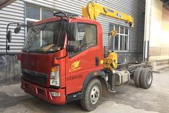 中国重汽HOWO 悍将 129马力 4X2 平板运输车底盘(徐工牌)(XZJ5041JSQZ5)