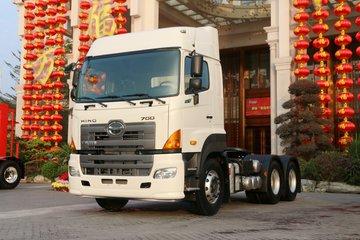 广汽日野 700臻值系 重卡 金典版 420马力 6X4牵引车(YC4250SS2PK5)