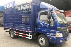 福田 欧马可3系 重载版 156马力 4.23米单排仓栅式轻卡(BJ5049CCY-A3) 卡车图片
