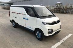 北汽新能源 EV407 2.4T 4.5米纯电动封闭厢式运输车43.5kWh