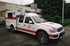 庆铃 五十铃TF  2.6L汽油 121马力 四驱 双排救护车皮卡 卡车图片
