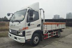 江淮 骏铃V6 130马力 4X2 4.19米气瓶运输车(HFC5080TQPV3Z)