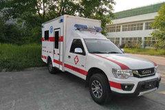 庆铃 五十铃TF 豪华型 2.6L汽油 121马力 四驱 单排救护车皮卡 卡车图片