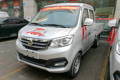 长安跨越 新豹T3 舒适版 1.2L 88马力 2.22米双排栏板微卡(SC1021TMS51) 卡车图片