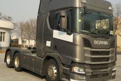 斯堪尼亚 新R系列重卡 450马力 6X2牵引车(国六)(型号R450) 卡车图片