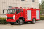 凯马 凯捷 170马力 4X2森林消防车(KMC5080GXFSL20)