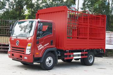 三龙龙江 143马力 4X2 3.9米单排仓栅式轻卡(CZW5040CCY-E5)
