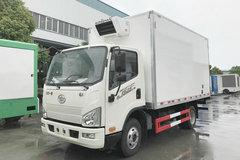 解放 J6F 150马力 4X2 4.13米冷藏车(CA5041XLCP40K17L1E5A85)