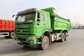 中国重汽 HOWO重卡 340马力 6X4 5.8米环保自卸车(速比4.77)(ZZ3257N3847E1B)