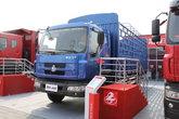 东风柳汽 乘龙609中卡 140马力 4X2 6.7米排半仓栅载货车(LZ5163CSRAP)