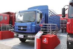 东风柳汽 乘龙609中卡 140马力 4X2 6.7米排半仓栅载货车(LZ5163CSRAP) 卡车图片