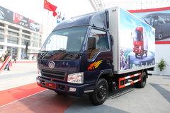 一汽解放 501系列 120马力 4.28米单排厢式轻卡 卡车图片