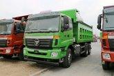 福田 欧曼ETX 9系重卡 336马力 6X4 5.6米渣土自卸车(特京五)(BJ3253DLPKB-XJ)