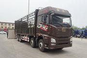 青岛解放 JH6重卡 375马力 8X4 9.5米仓栅式载货车(CA5310CCYP25K2L7T4E5A80)