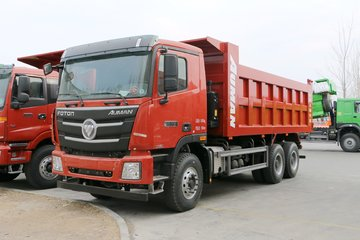 福田 欧曼GTL 9系重卡 北方版 375马力 6X4 5.6米自卸车(重汽12挡)(BJ3259DLPKB-AH)