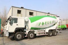 中国重汽 HOWO重卡 380马力 8X4 搅拌车(12档)(ZZ5317GJBN3667E1)