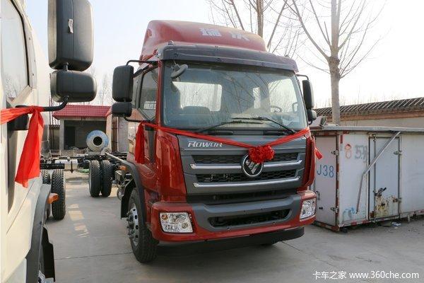 福田 瑞沃中卡 168马力 4X2 6.7米栏板载货车(BJ1146VJPEK-1)