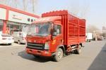 中国重汽HOWO 统帅 超能版 160马力 4.15米单排仓栅轻卡(ZZ5047CCYF341CE143A)