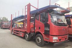 一汽解放 J6L 320马力 6X2 中置轴车辆运输车(程力威牌)(CLW5220TCLC5)