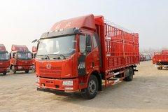 一汽解放 J6L中卡 质惠版 180马力 4X2 6.8米仓栅式载货车(CA5160CCYP62K1L4E5)图片