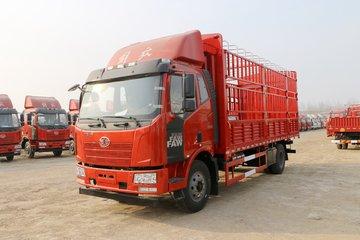 一汽解放 J6L中卡 180马力 6.2米仓栅式载货车(一汽8档)(CA5180CCYP62K1L4E5)