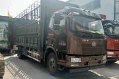 一汽解放 J6L中卡 220马力 4X2 6.75米仓栅式载货车(CA5180CCYP62K1L4E5)