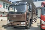 一汽解放 J6L中卡 220马力 4X2 6.75米仓栅式载货车(CA5180CCYP62K1L4E5)图片
