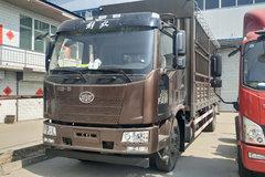 一汽解放 J6L中卡 220马力 4X2 6.75米仓栅式载货车(CA5180CCYP62K1L4E5) 卡车图片