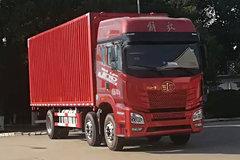 青岛解放 JH6重卡 320马力 6X2 9.5米厢式载货车(CA5250XYKP26K1L7T3E5A80)