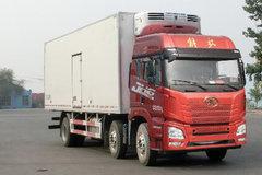 青岛解放 JH6重卡 320马力 6X2 9.435米冷藏车(CA5250XLCP26K1L7T3E5A80)