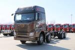青岛解放 JH6重卡 420马力 8X4 9.5米栏板载货车(CA1310P25K2L7T4E5A80)图片