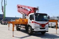 青岛解放 龙V 220马力 4X2 混凝土泵车(海隆吉特牌)(ZHL5200THB)