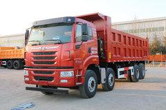 青岛解放 天V重卡 375马力 8X4 7.6米自卸车(CA3310P2K2L4T4E5A80) 卡车图片