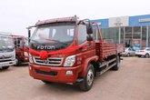 福田 奥铃CTX中卡 156马力 4X2 6.2米排半栏板载货车(BJ1169VKPEG-F2)
