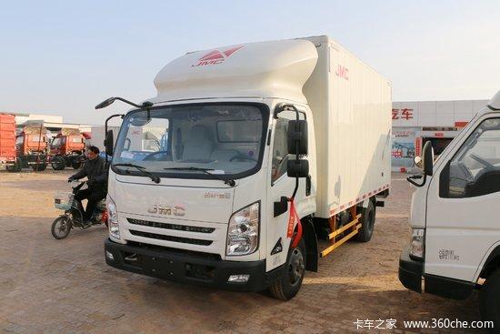 江铃 凯运升级版 116马力 4.07米单排厢式轻卡(JX5042CCYXGA2)